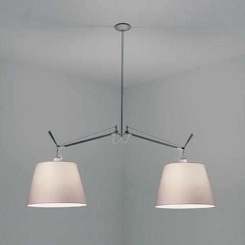 Подвесной светильник Artemide Tolomeo basculante 2 bracci