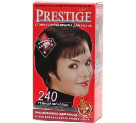 Краска для волос Prestige 240- Темный шоколад, 50/50 мл.