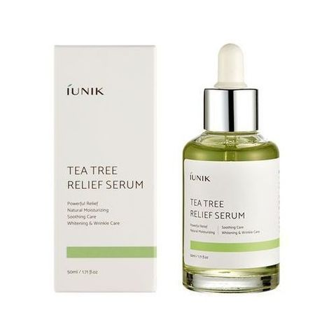 IUNIK Tea Tree Relief Serum сыворотка c экстрактом чайного дерева