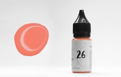 LION TATTOO PIGMENT # 26 LION'S CORAL PINK