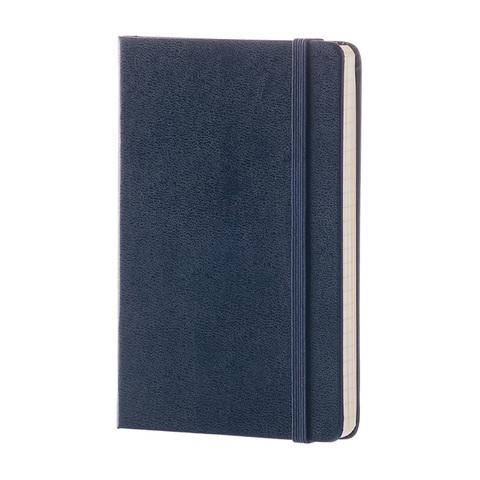 Блокнот Moleskine Classic Pocket, 192 стр., синий, в линейку