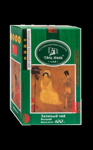 Чай зеленый Тянь Жень листовой 100 гр
