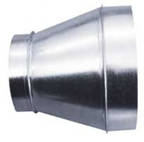 Переход 100х250 оцинкованная сталь
