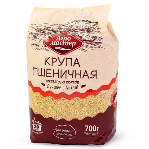 Пшеничная крупа АГРОМАСТЕР 700 гр м/у РОССИЯ
