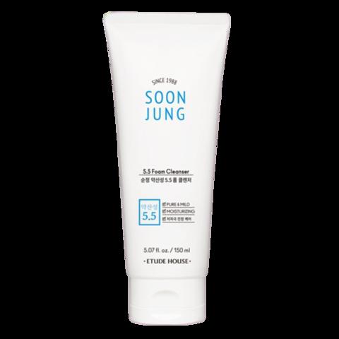 ETUDE HOUSE Soonjung 5.5 foam cleanser 150 ml