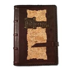 Ежедневник кожаный в стиле 19 века модель 17