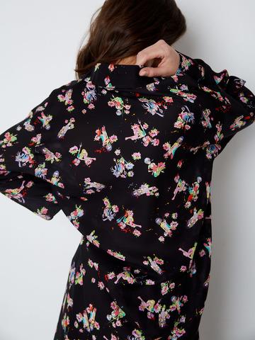 Рубашка из шелка Девочки