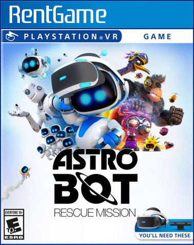 ASTRO BOT Rescue Mission VR PS4 | PS5
