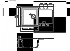 Схема Omoikiri Sakaime 79-BL