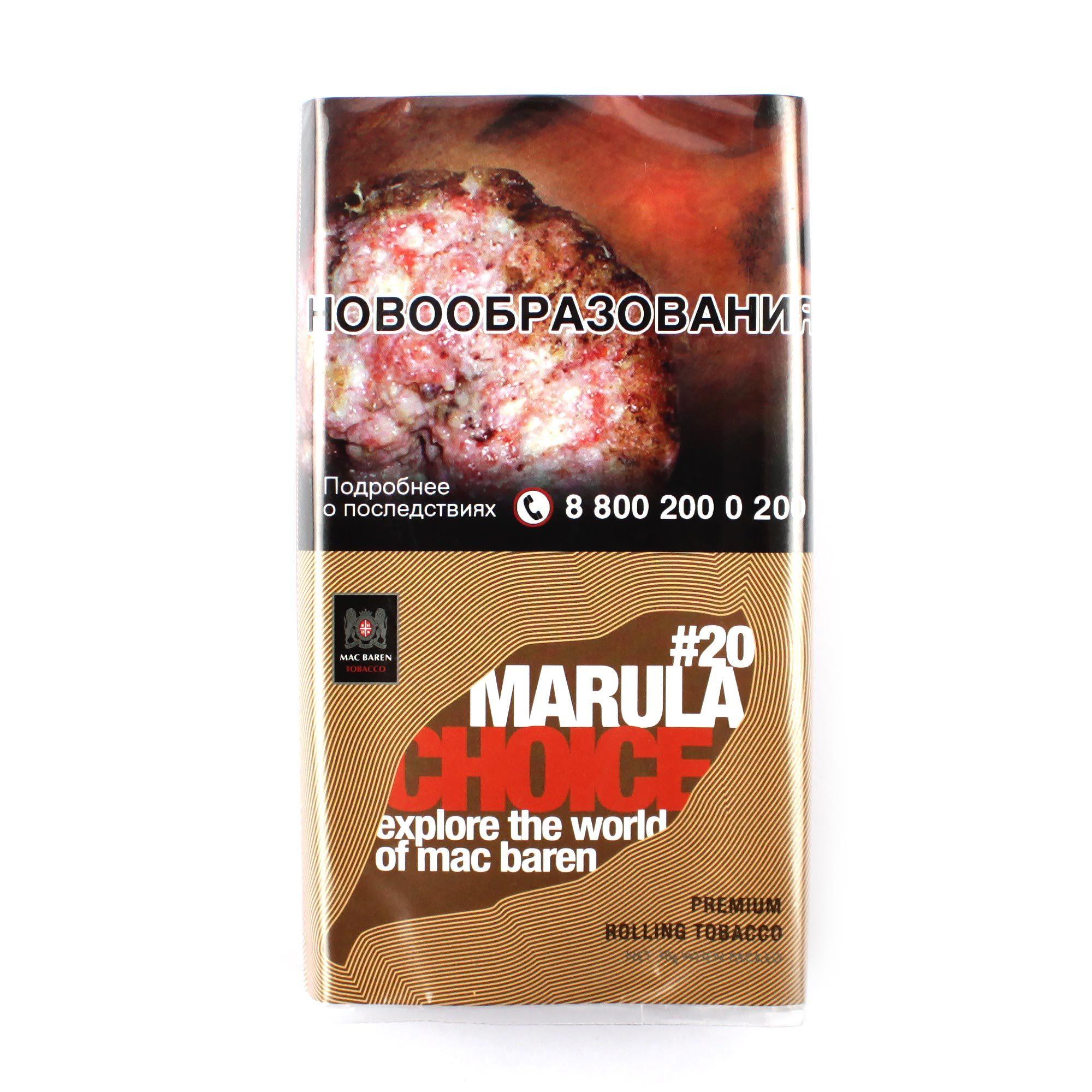 Табак сигаретный Mac Baren MARULA CHOICE 40 гр