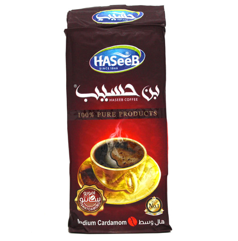 Арабский кофе Medium Cardamom, Haseeb, 200 г