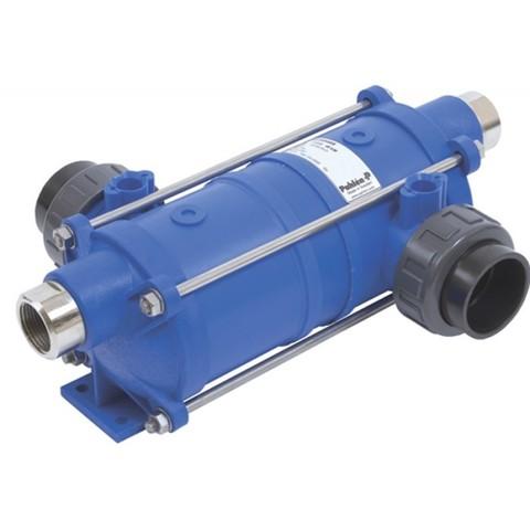 Теплообменник вертикальный 40 кВт HI-TEMP из термостойкого пластика со спиралью из AISI-316 Pahlen
