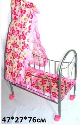 Кроватка 9394 для кукол Melobo (Св)