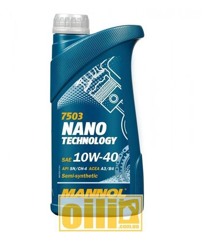 Mannol 7503 NANO TECHNOLOGY 10W-40 1л