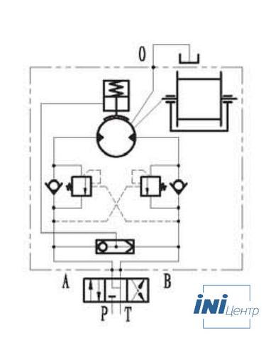 Эвакуационная лебедка IYJ22-25-38-12-ZPND