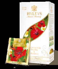 """Чай черный """"Hyleys"""" каркаде с шиповником 25 пакетиков"""