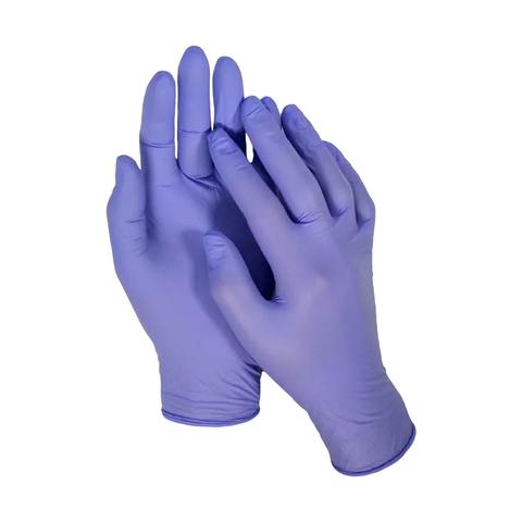 mediOk, нитриловые перчатки, размер S, пара (черничные)