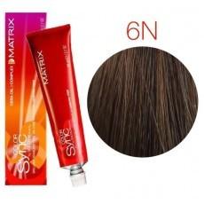 Matrix Color Sync: Neutral 6N темный блондин натуральный, крем-краска без аммиака, 90мл