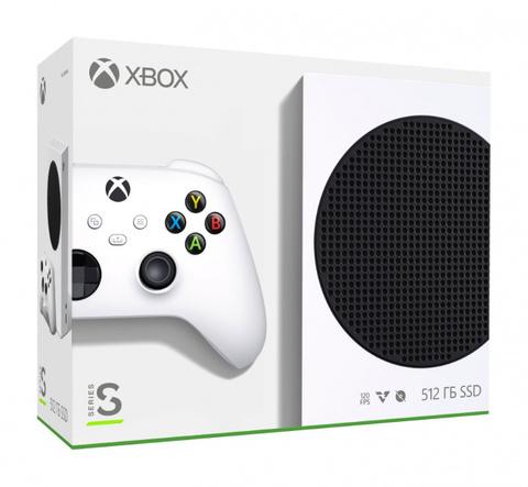 Игровая консоль Xbox Series S All Digital 512 ГБ (RRS-00011)