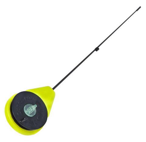 Удочка-балалайка зимняя Lucky John ERGO 26.5см желтая