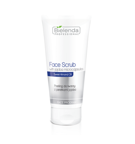 FACE SCRUBS Скраб для лица с жемчужинами жожоба