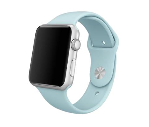 Ремешок для Apple Watch 38mm/40mm силиконовый | бирюзовый