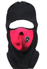 Балаклава, маска (модель №10) красная