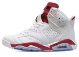 Кроссовки Мужские Nike Air Jordan VI White Red