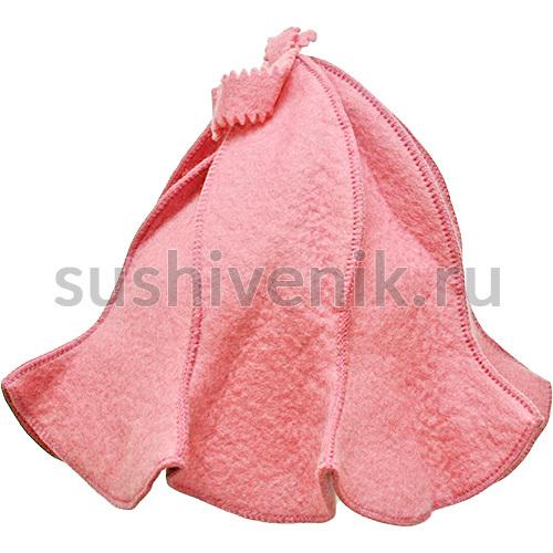 Фетровая шапка для бани и сауны