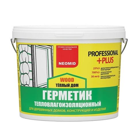 Neomid Теплый дом Wood Professional Plus строительный герметик