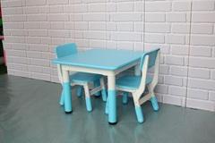 Пластиковый регулируемый квадратный стол 60х60