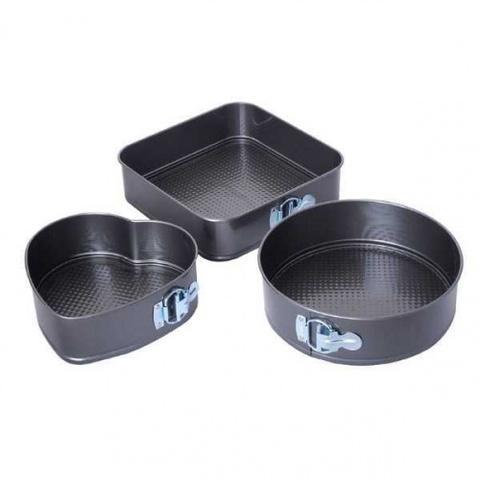 Набор фигурных форм для выпечки , 3 шт
