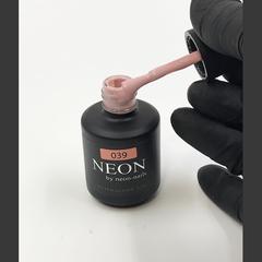 NEON, гель-лак Pink Marhmallow № 039 , (12 ml) розово-бежевый