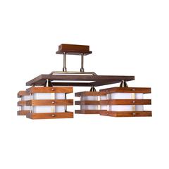 INL-9215C-04 Antique brass & Walnut