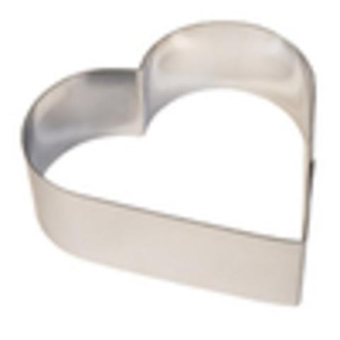 Сердце металлическое для выпечки 22см