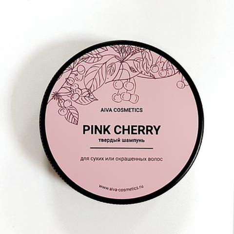 AIVA PINK CHERRY \твердый шампунь\упаковка стандарт, 50 гр