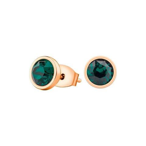 Пусеты Emerald SWE298 EM RG