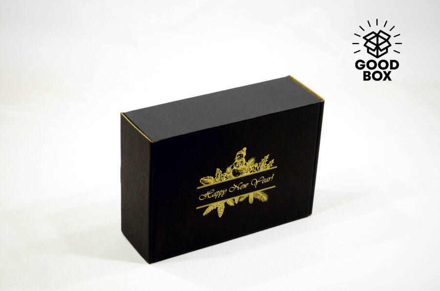 Новогодние коробки недорого