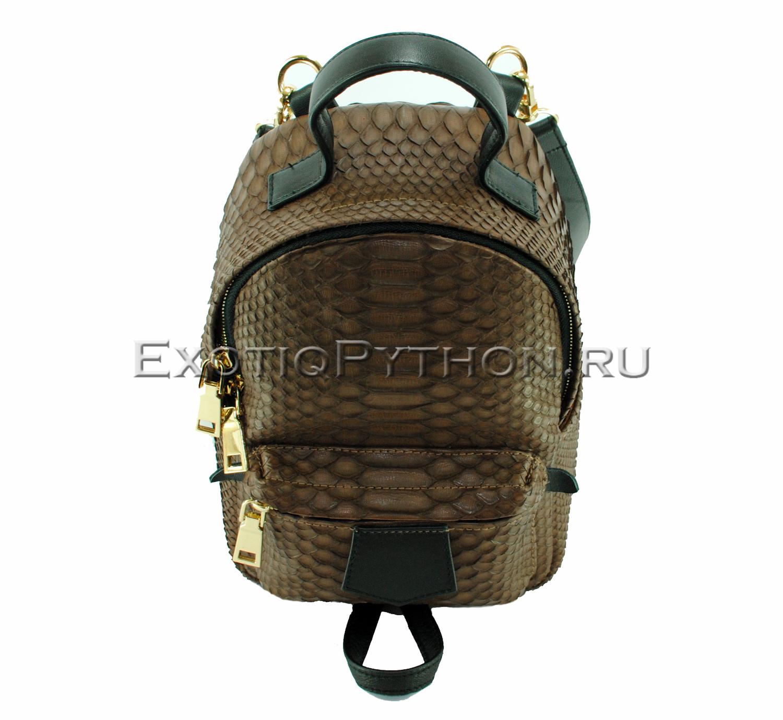 Рюкзак из кожи питона BG-275