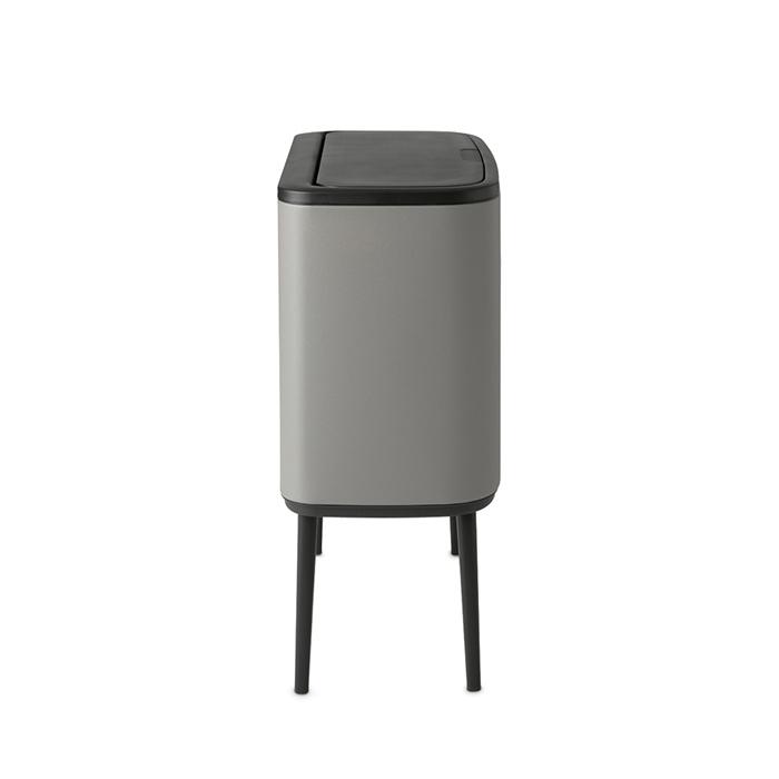 Мусорный бак Touch Bin Bo (36 л), Минерально-серый, арт. 127205 - фото 1