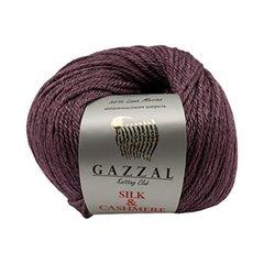 GAZZAL SILK & CASHMERE (50% Шелк, 20% Кашемир, 30% Мериносовая шерсть, 50гр/125м)