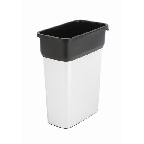Контейнер для мусора и отходов Vileda Professional Гео 55 л металлизированный пластик (29x49x61 см, арт. производителя 137728)