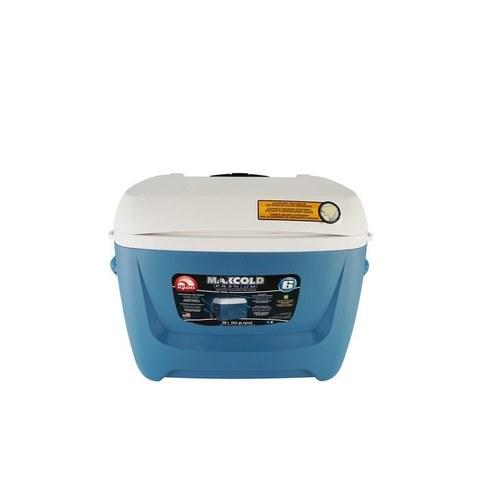 Изотермический пластиковый контейнер Igloo Maxcold 62 Roller blue