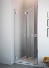 Душевая дверь  Radaway Carena DWB  70L  70x195 см. левая, крепится слева, профиль хром, стекло прозрачное 34582-01-01NL