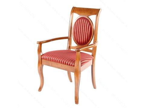 Кресло LG-AC Legend Espresso МиК темный орех, бордо