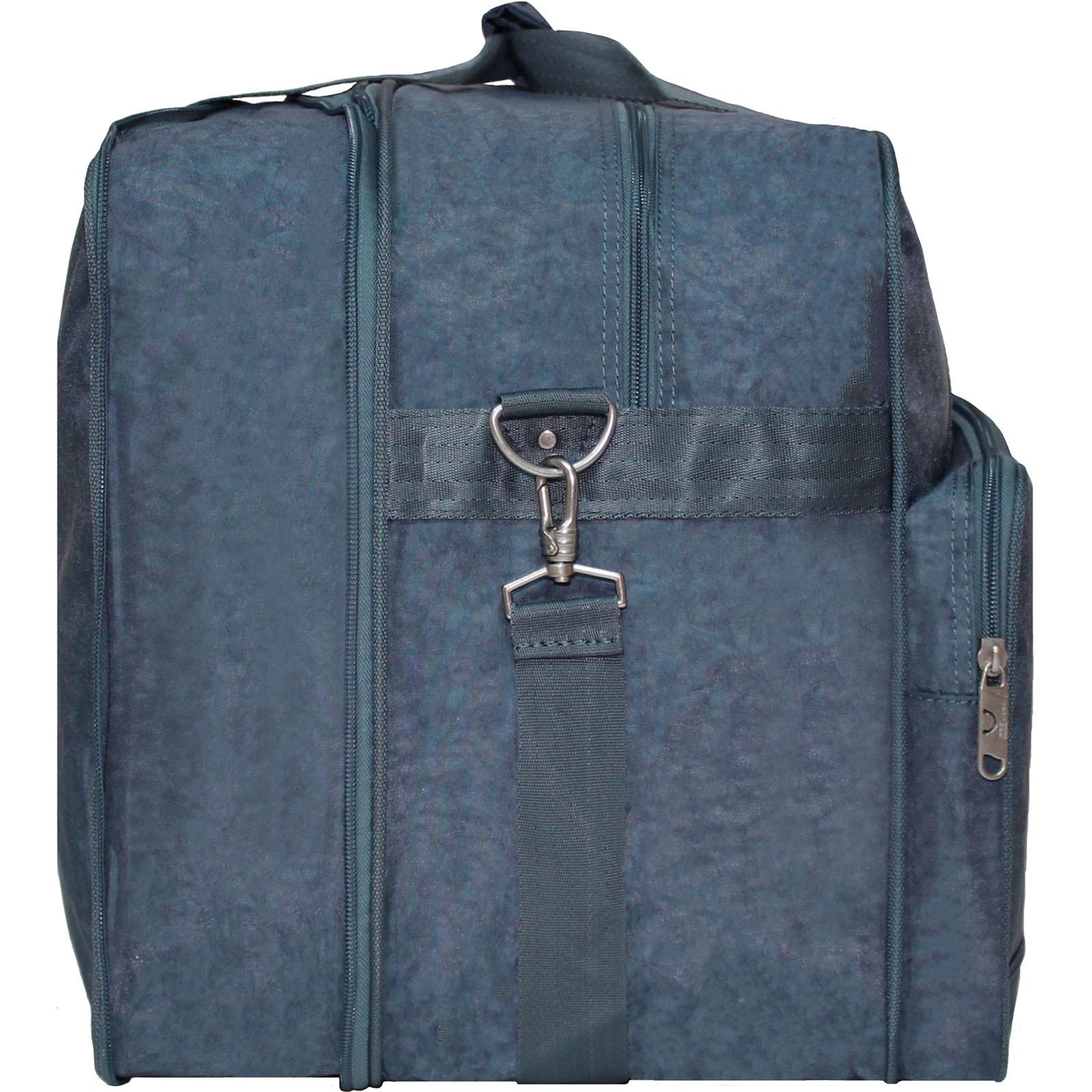 Дорожная сумка Bagland Рига 36 л. 321 серый (0030370)