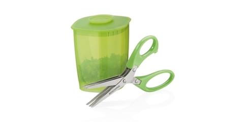 Ножницы для зелени PRESTO 15 cм,с емкостью