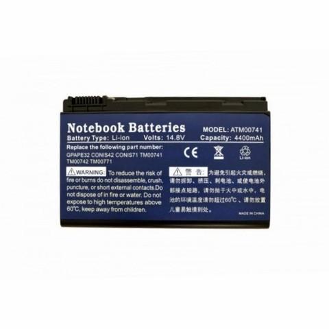Аккумулятор для Acer Extensa 5220 5620 7220 7620 (14.8V 4400mAh)