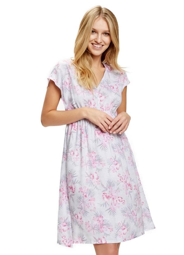 Ночная сорочка для беременных и кормящих ESOTIQ (37081 SELEN)