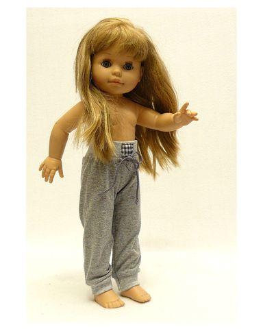Брюки для прогулки - На кукле. Одежда для кукол, пупсов и мягких игрушек.